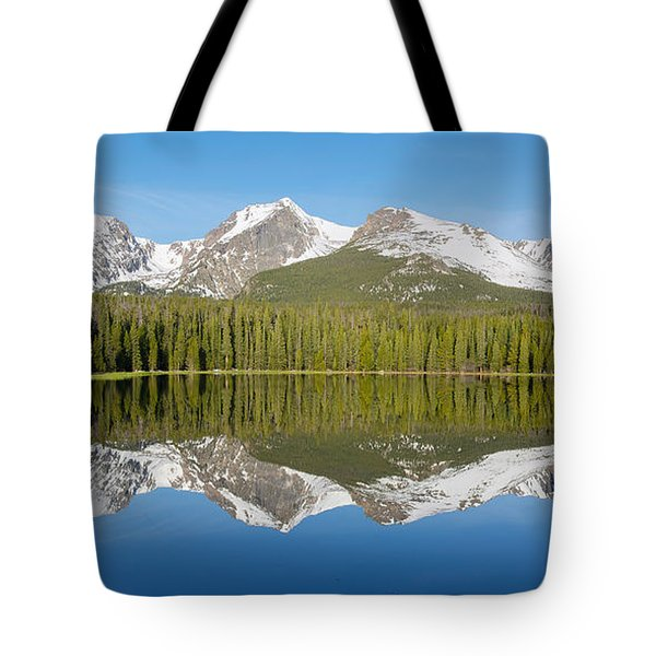 Tote Bag featuring the photograph Bierstadt Lake  by Aaron Spong
