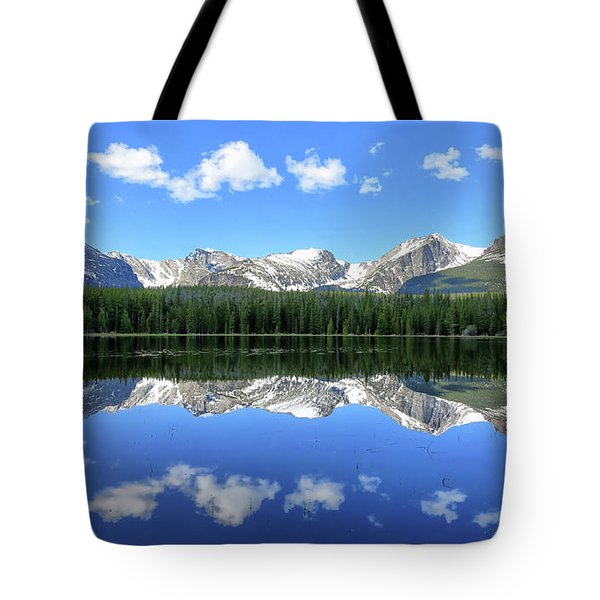 Bierstadt Lake In Rocky Mountain National Park Tote Bag by Ronda Kimbrow