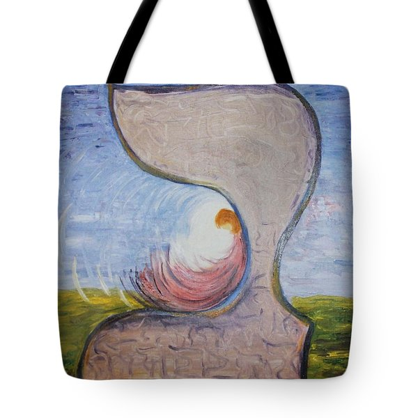 Biet - Meditation In Oil Tote Bag