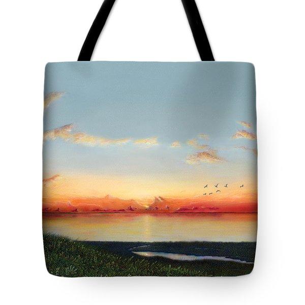 Big Assawoman Bay Tote Bag
