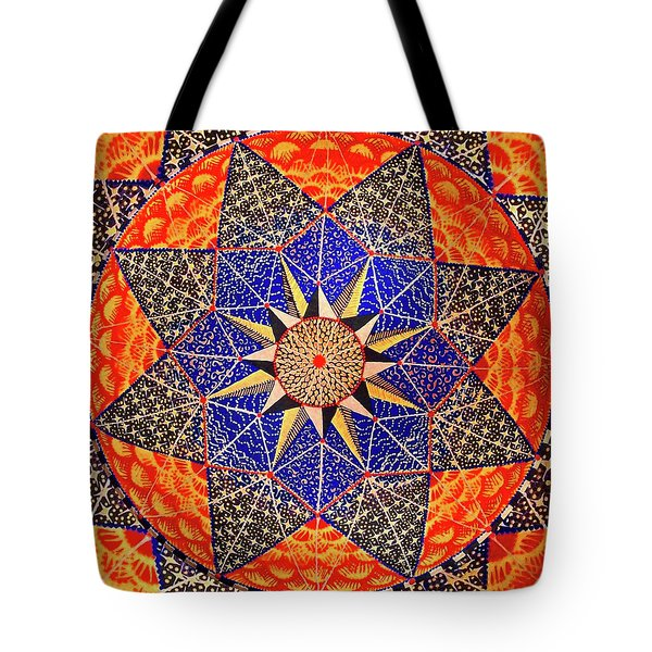 Tote Bag featuring the painting Big Beauty by Kym Nicolas