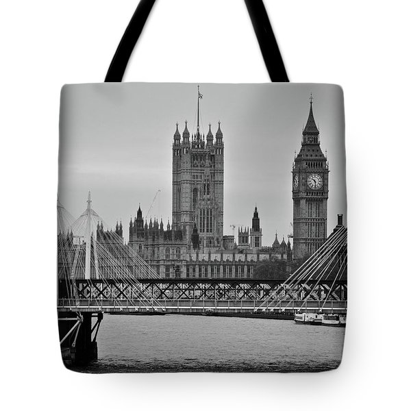 Big Ben And Parliament  Tote Bag