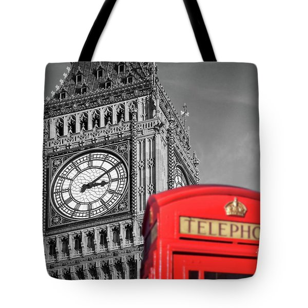 Tote Bag featuring the photograph Big Ben by Delphimages Photo Creations