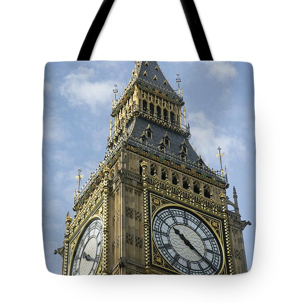 Tote Bag featuring the photograph Big Ben by Elvira Butler