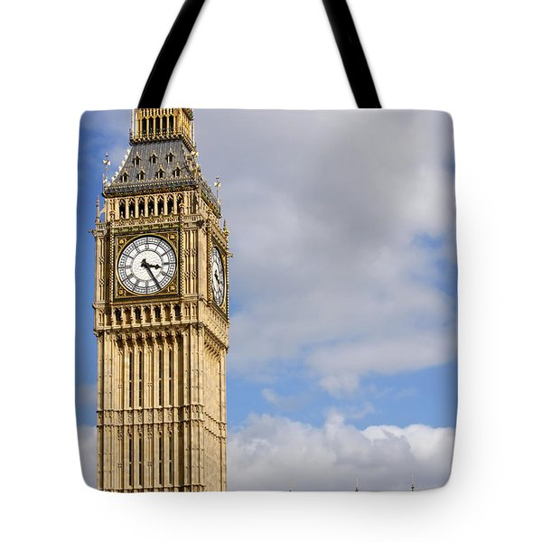 Tote Bag featuring the photograph Big Ben by KG Thienemann