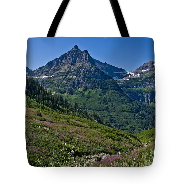 Big Bend, Glacier National Park Tote Bag