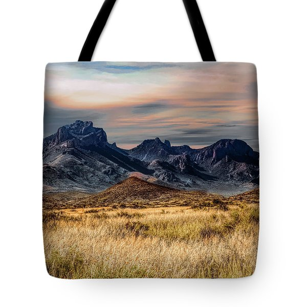 Big Bend Hill Tops Tote Bag