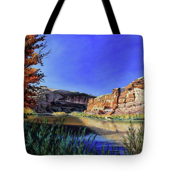 Big Bend On The Colorado Tote Bag