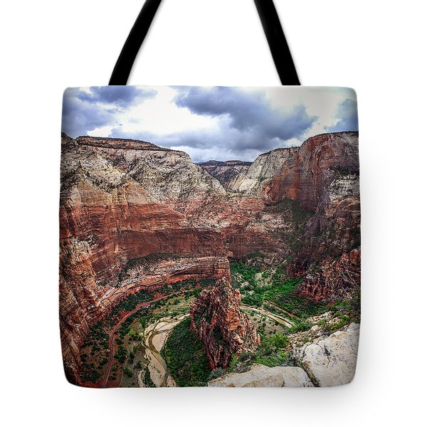 Big Bend Zion National Park Tote Bag