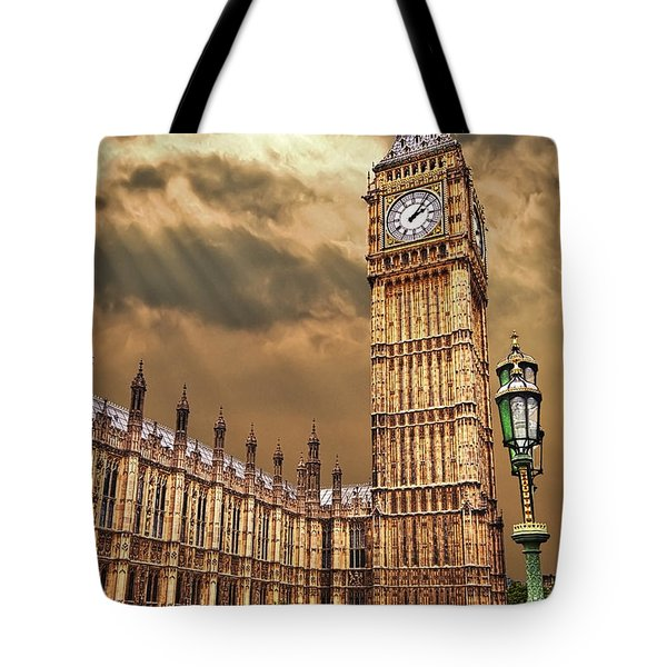 Big Ben's House Tote Bag