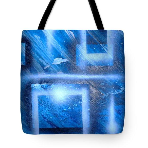Big Blue II Tote Bag