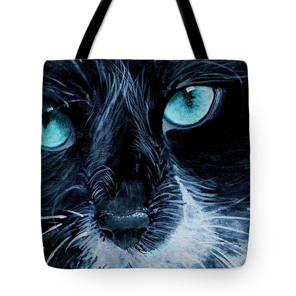Big Blue Tote Bag