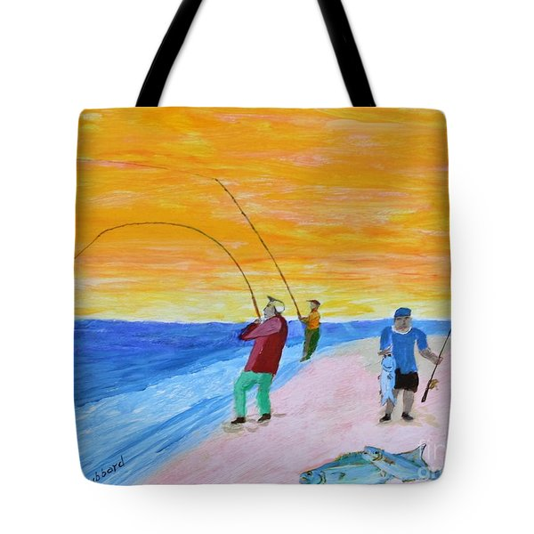 Big Blues At Herring Cove Tote Bag