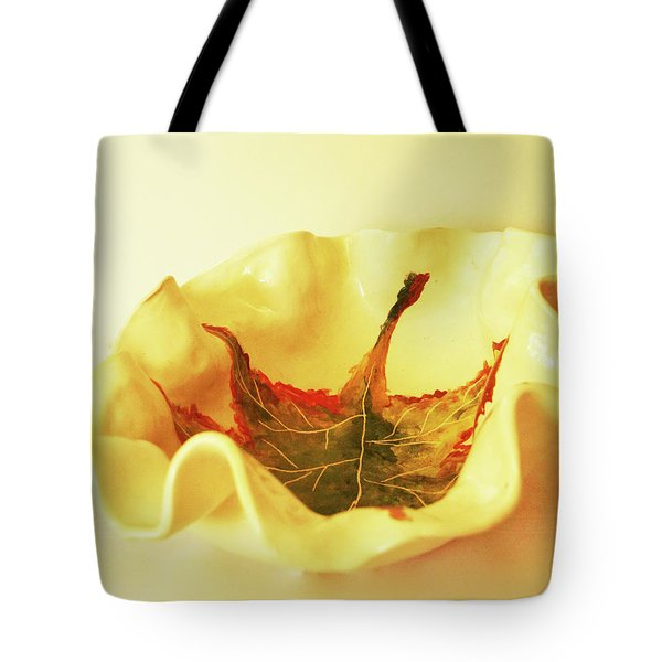 Big Bowl1 Tote Bag by Itzhak Richter