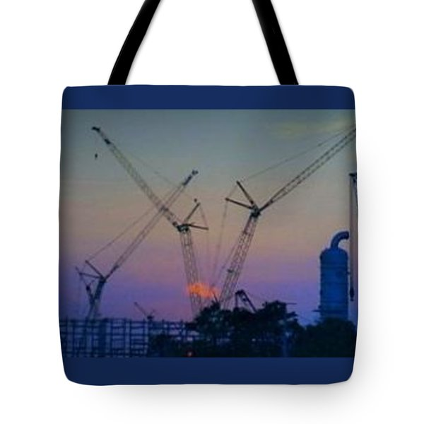 Big Boy Erector Set Tote Bag by John Glass