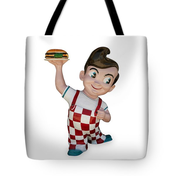 The Big Boy Tote Bag by Gary Warnimont