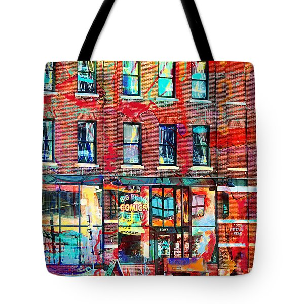 Big Brain City Wall Tote Bag