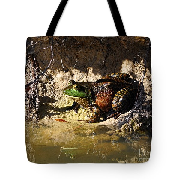 Tote Bag featuring the photograph Big Bud by Al Powell Photography USA