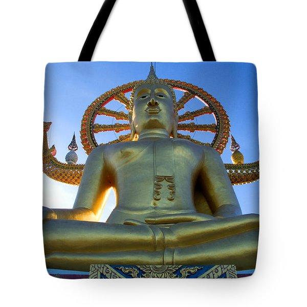 Big Buddha At Koh Samui Tote Bag