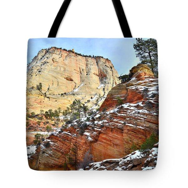 Big Butte II Tote Bag