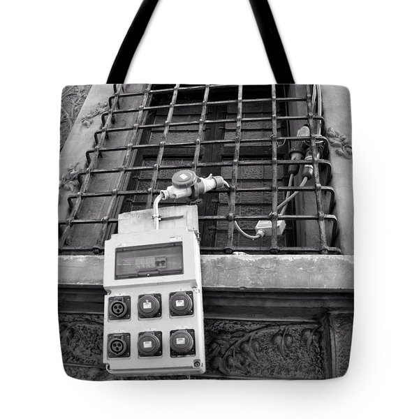 Big Buttons Tote Bag