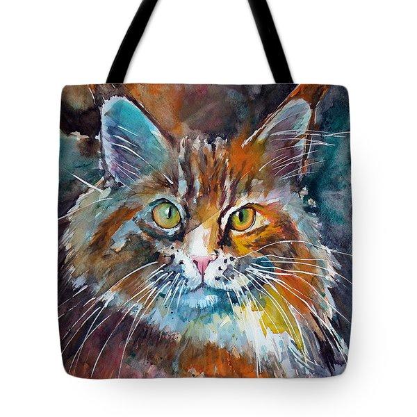 Big Cat Tote Bag