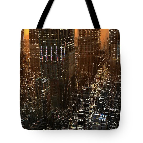 Big City Sunset Tote Bag