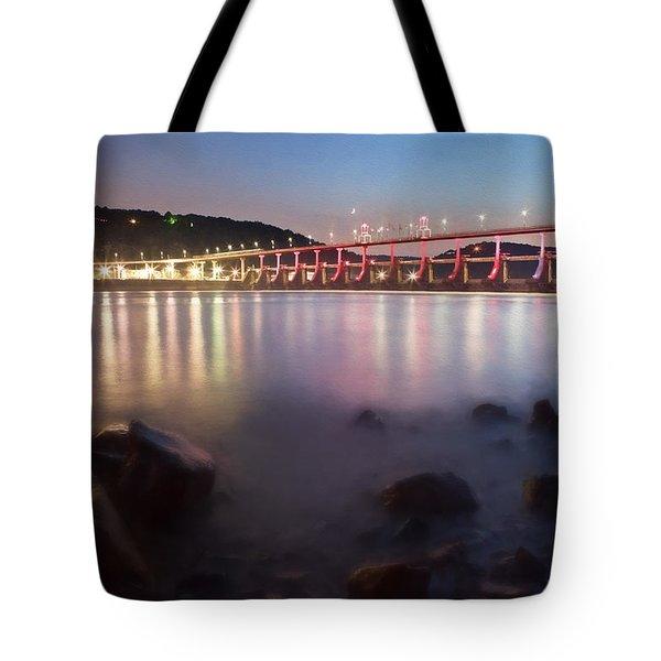 Big Dam Bridge Tote Bag