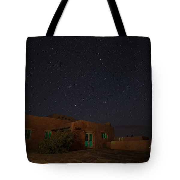 Tote Bag featuring the photograph Big Dipper Over Pdi by Melany Sarafis