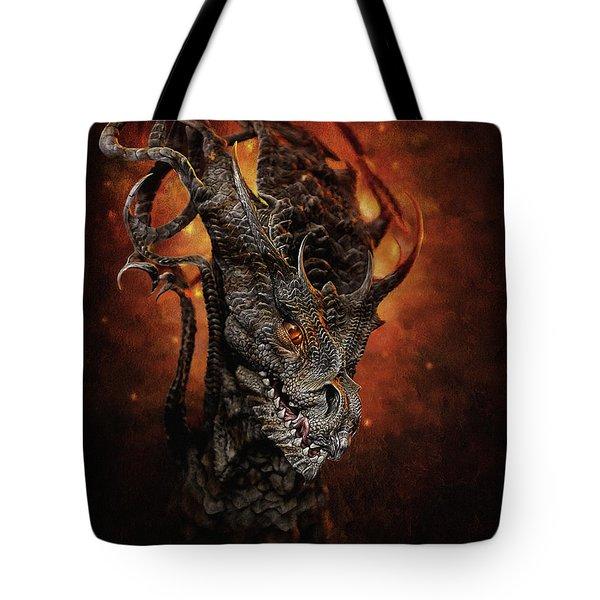 Big Dragon Tote Bag