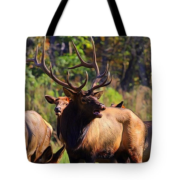 Big Elk Tote Bag