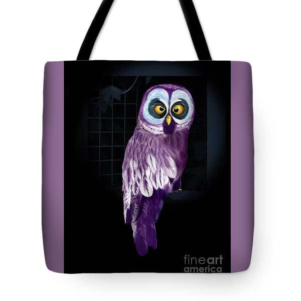 Big Eyed Owl Tote Bag