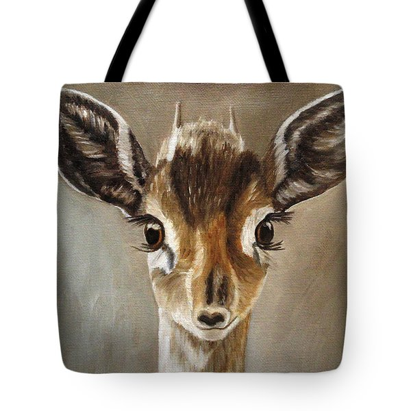 Big Eyes Dik-dik Tote Bag
