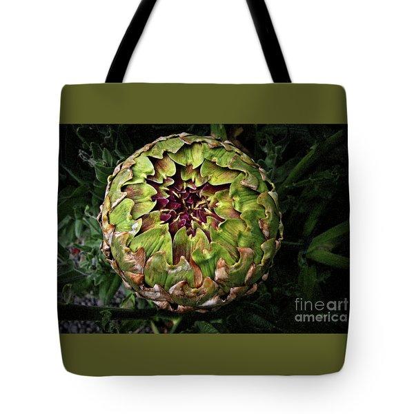 Big Fat Green Artichoke Tote Bag
