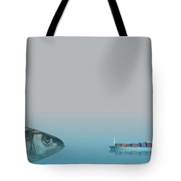 Big Fish Tote Bag