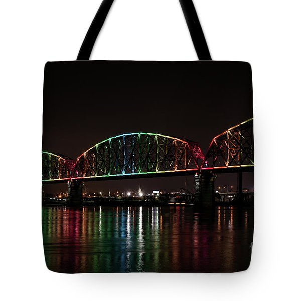 Big Four Bridge 2215 Tote Bag by Andrea Silies
