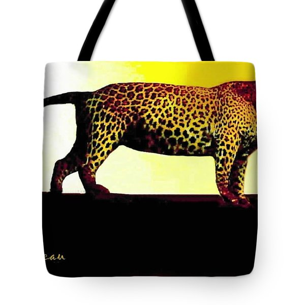 Big Game Africa - Leopard Tote Bag by Sadie Reneau