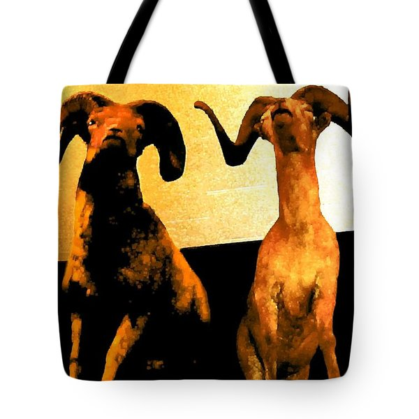 Big Game Canada - Fannin Sheep Tote Bag by Sadie Reneau