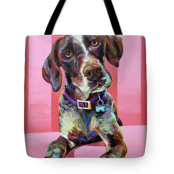 Big Hank, The German Short-haired Pointer Tote Bag