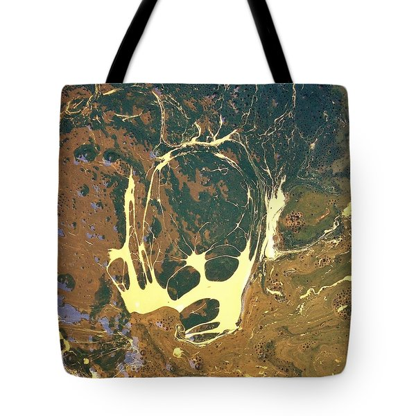 Big Headed Side Rocket Tote Bag