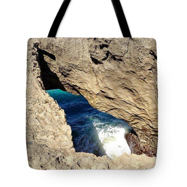 Big Hole  Tote Bag