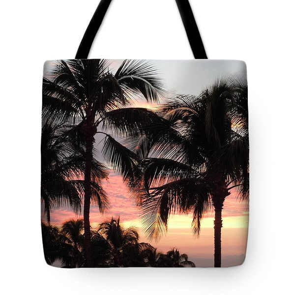 Big Island Sunset 1 Tote Bag