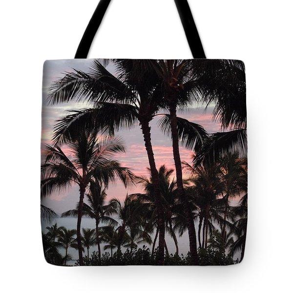 Big Island Sunset 2 Tote Bag