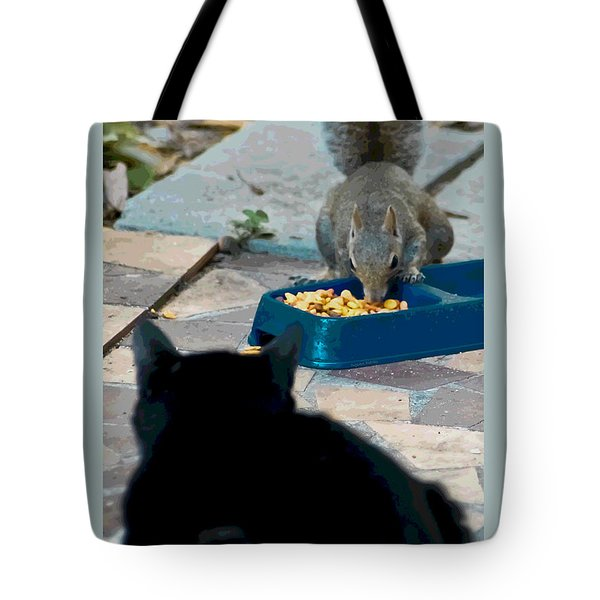 Big Kahunas Tote Bag by DigiArt Diaries by Vicky B Fuller