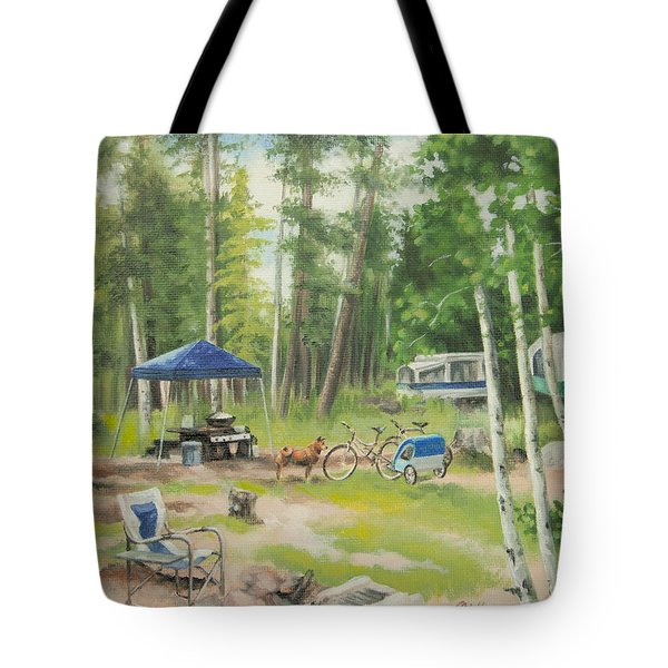 Big Lake 2015 Tote Bag