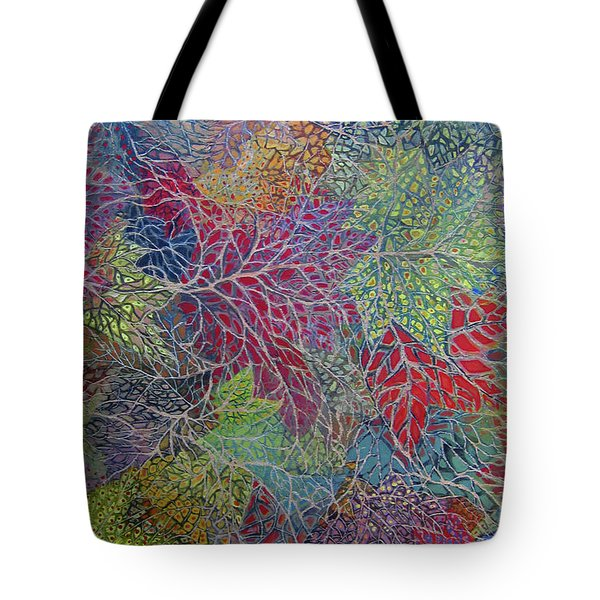 Big Leaf Maple Abstract Tote Bag