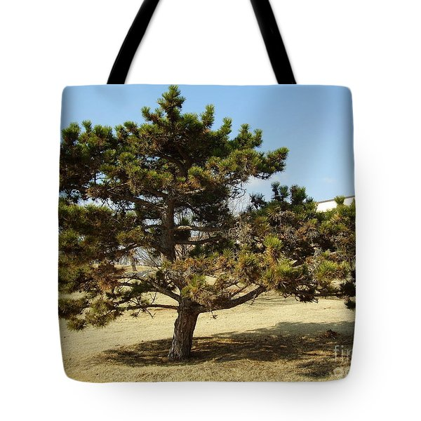 Big Man On Campus Tote Bag by Iris M Gross