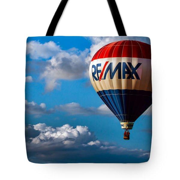 Big Max Re Max Tote Bag by Bob Orsillo
