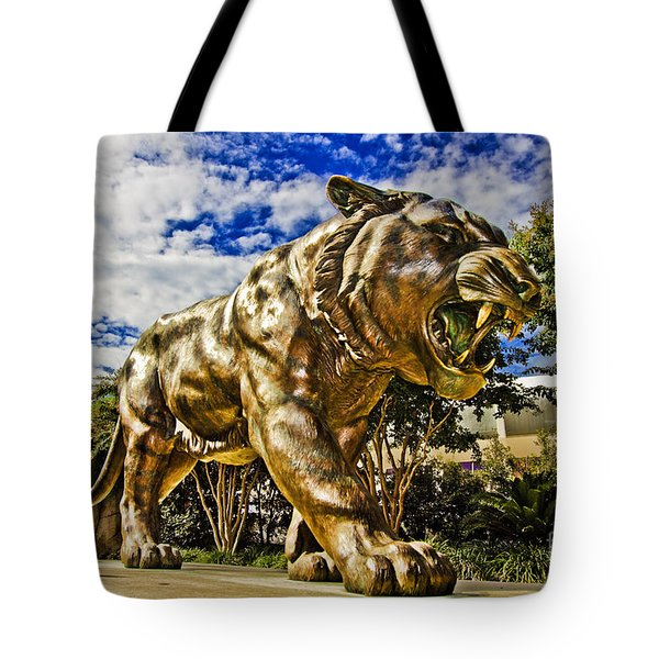 Big Mike Tote Bag by Scott Pellegrin