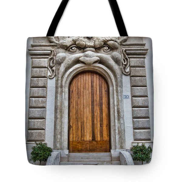 Tote Bag featuring the photograph Big Mouth Door by Kim Wilson